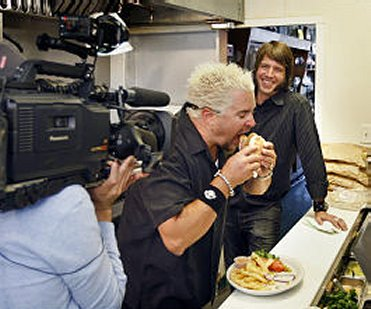 Who Can Stand To Watch Guy Fieri Eat Cave News