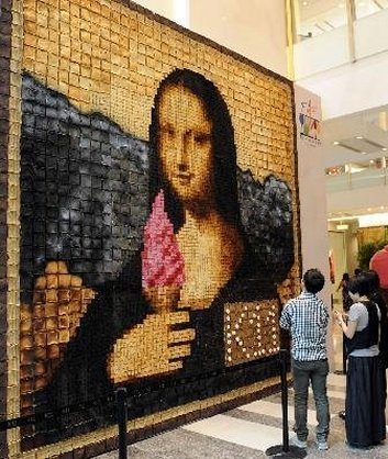 Mona-lisa-toast