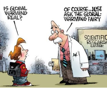 Is global warming real cave news