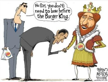 It Was Such Fun To See Editorial Cartoonists Use Burger Kings King As Fodder For Drawings Like The Cartoon By Glenn McCoy Shown Above During