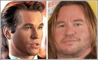 Val Kilmer - then and now - Cave News