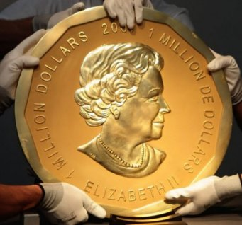 Thieves steal world's biggest gold coin worth millions from