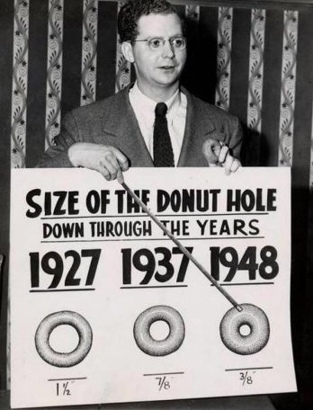 Do-nut hole size
