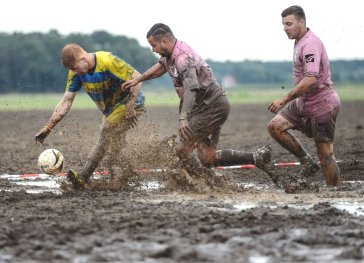 Soccer-in-mud