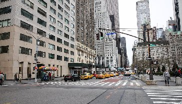 Madison Ave on the Upper East Side