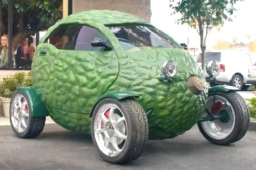 Avacado-car