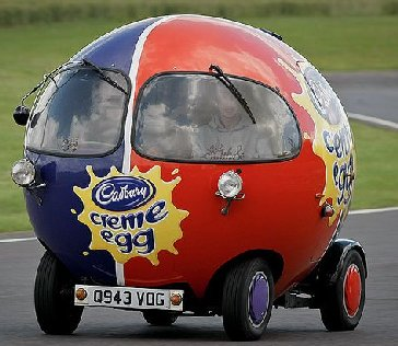 Cadbury's Cream Egg Car