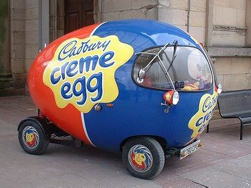 Cadbury's Cream Egg Car2