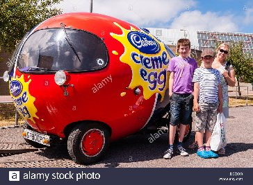 Cadbury's Cream Egg Car3