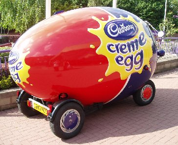 Cadbury's Cream Egg Car4