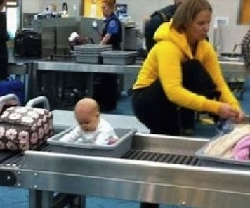 Baby-airport-security